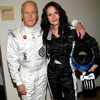 TAG TEAM photo | Julia Roberts, Paul Newman