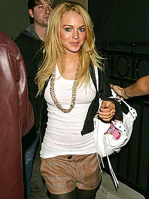 GOLD STANDARD photo | Lindsay Lohan