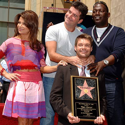 TOUGH LOVE photo | Paula Abdul, Randy Jackson (Musician), Ryan Seacrest, Simon Cowell