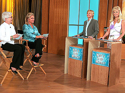 THE MOM DEGREE photo | Ellen DeGeneres, Kathy Hilton, Paris Hilton
