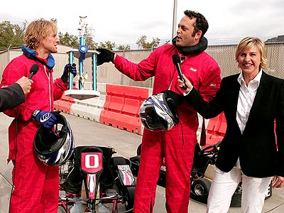 'CRASH' CART photo | Ellen DeGeneres, Owen Wilson, Vince Vaughn