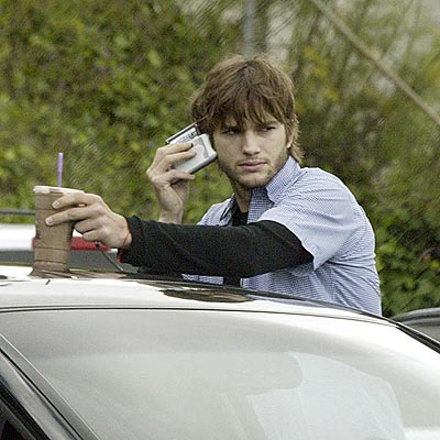 HEARING AID photo | Ashton Kutcher