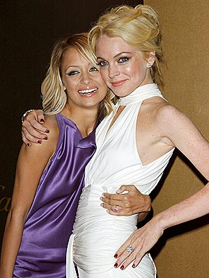 ALL THAT GLITTERS photo | Lindsay Lohan, Nicole Richie