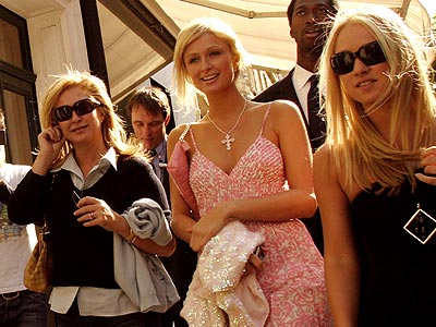 PARIS, FRANCE photo | Kathy Hilton, Paris Hilton