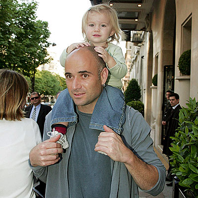 HEAD AND SHOULDERS photo | Andre Agassi