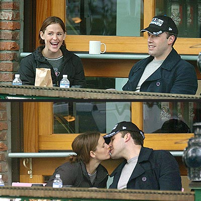 SEALED WITH A KISS photo | Ben Affleck, Jennifer Garner