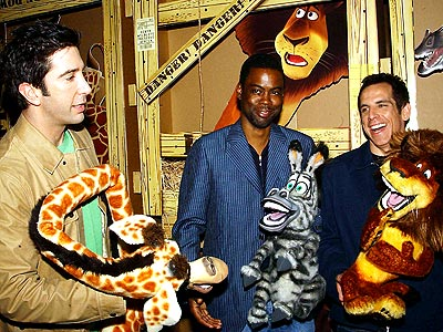 WHAT CHARACTERS! photo | Ben Stiller, Chris Rock, David Schwimmer