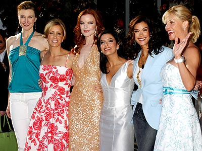 GARDEN PARTY photo | Brenda Strong, Eva Longoria, Felicity Huffman, Marcia Cross, Nicollette Sheridan, Teri Hatcher