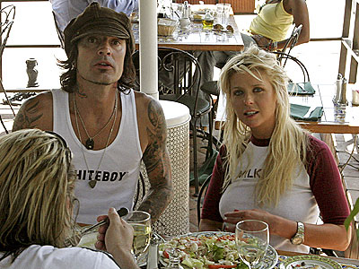 LETTUCE ALONE! photo | Tara Reid, Tommy Lee