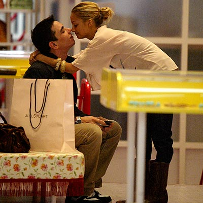 KISSING UP photo | Adam Goldstein, Nicole Richie