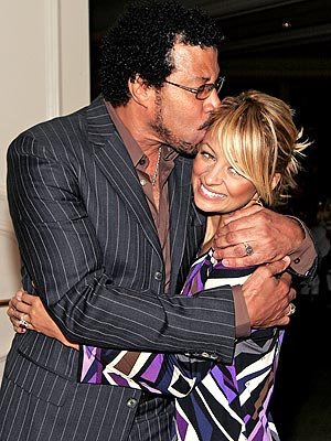 STUCK ON HER  photo | Lionel Richie, Nicole Richie