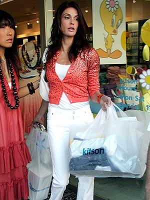 SHOP 'TIL YOU DROP photo | Teri Hatcher