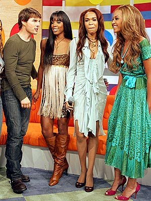 FACING DESTINY photo | Destiny's Child, Beyonce Knowles, Kelly Rowland, Michelle Williams (Musician), Tom Cruise