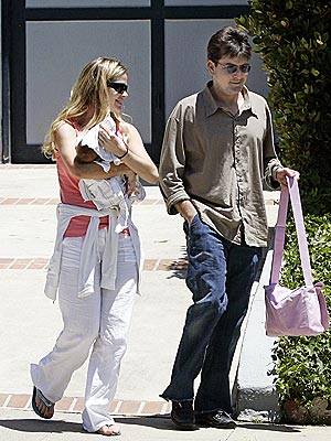 BABY LOVE photo | Charlie Sheen, Denise Richards