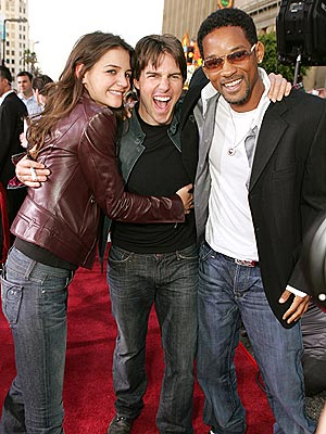 WORLD PREMIERE photo | Katie Holmes, Tom Cruise, Will Smith