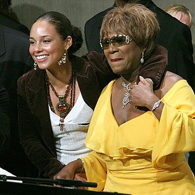 LEAN ON ME photo | Alicia Keys, Patti LaBelle