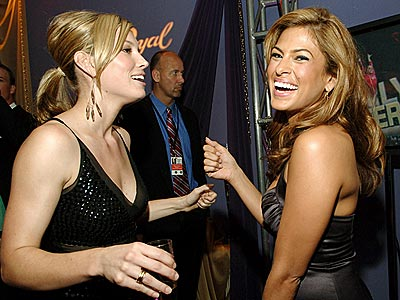 BACKSTAGE PASS photo | Eva Mendes, Jessica Biel