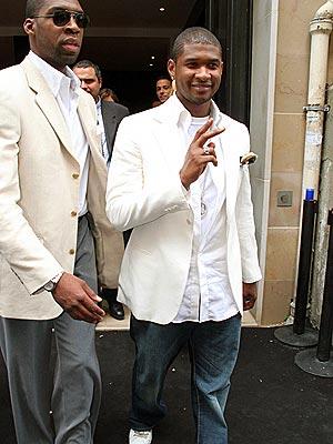 SHARP-DRESSED MAN photo | Usher