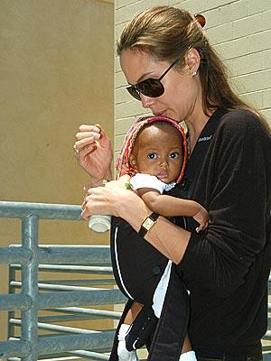 BABY STEPS photo | Angelina Jolie