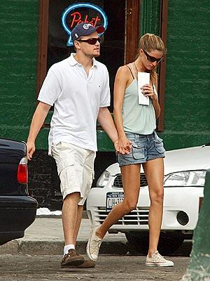 SHORTING OUT photo | Giselle Bundchen, Leonardo DiCaprio