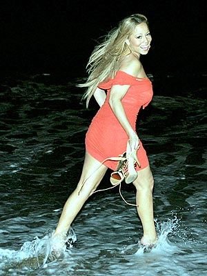 MAKING A SPLASH photo | Mariah Carey