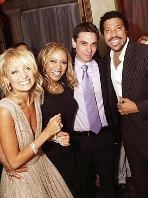 ALL IN THE FAMILY photo | Adam Goldstein, Lionel Richie, Nicole Richie