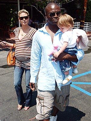 FAMILY OUTING photo | Heidi Klum, Seal