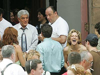 'FAMILY' AFFAIR photo | Edie Falco, Frank Vincent, James Gandolfini