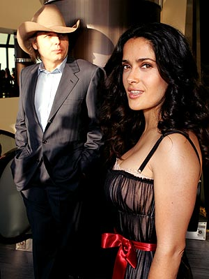DRAMATIC PAUSE photo | Dwight Yoakam, Salma Hayek
