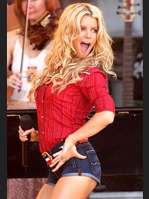 BOOT-Y SHAKIN' photo | Jessica Simpson