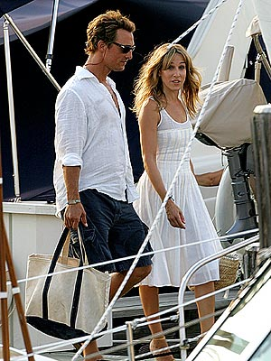 BON VOYAGE photo | Matthew McConaughey, Sarah Jessica Parker