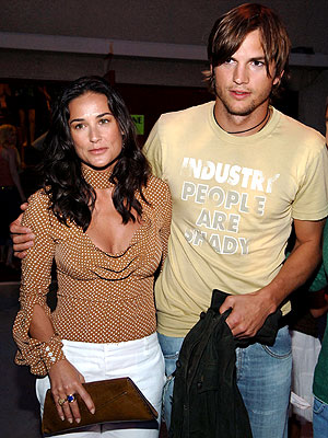 OLD PRO photo | Ashton Kutcher, Demi Moore