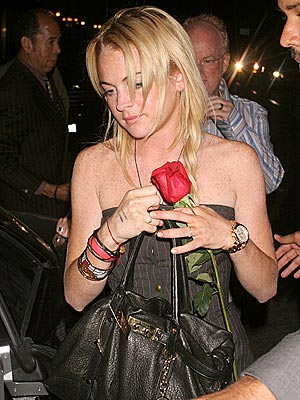 FLOWER GIRL photo | Lindsay Lohan