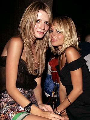 FIRST CLASS photo | Mischa Barton, Nicole Richie