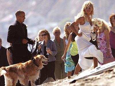 WEIRD WEDDING photo | Pamela Anderson