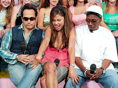 Minnillo IN THE MIDDLE photo | Eddie Griffin, Rob Schneider, Vanessa Minnillo