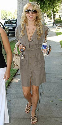 STREET STYLE photo | Lindsay Lohan