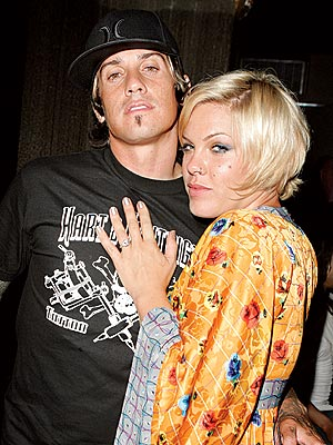 SHINY HAPPY PEOPLE photo | Carey Hart, Pink