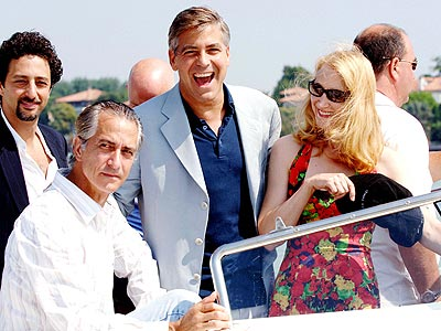 GOOD TIMES photo | George Clooney, Patricia Clarkson