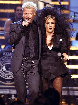 GOTH ROCK photo | Billy Idol, Lisa Marie Presley