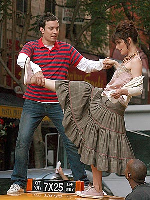 POP ARTISTS photo | Jimmy Fallon, Parker Posey