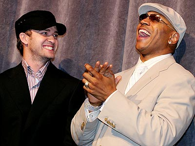 LAUGH TRACK photo | Justin Timberlake, LL Cool J