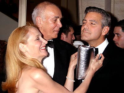FEELING 'LUCKY' photo | George Clooney, Patricia Clarkson