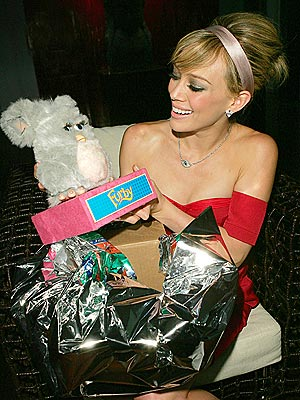 BIRTHDAY LOOT photo | Hilary Duff