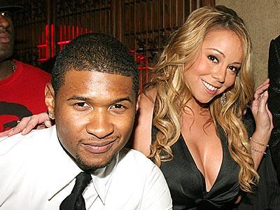 CHARMING PAIR photo   Mariah Carey, Usher