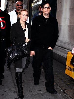 COOL BRITTANIA photo | Hilary Duff, Joel Madden