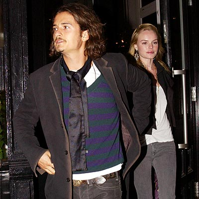 DINNER DATE photo | Kate Bosworth, Orlando Bloom