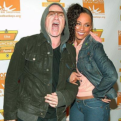 PIPING HOT photo | Alicia Keys, Bono