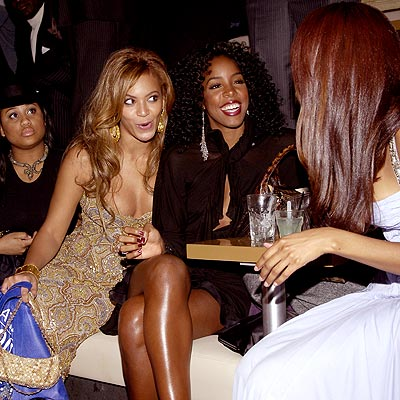 GIRL TALK photo | Beyonce Knowles, Kelly Rowland
