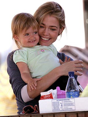 OUTDOOR PARTY photo | Denise Richards